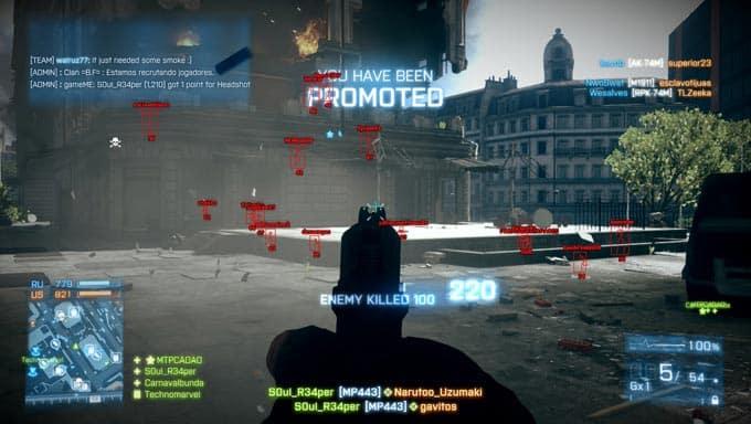 battlefield aimbot hacks cheats bf
