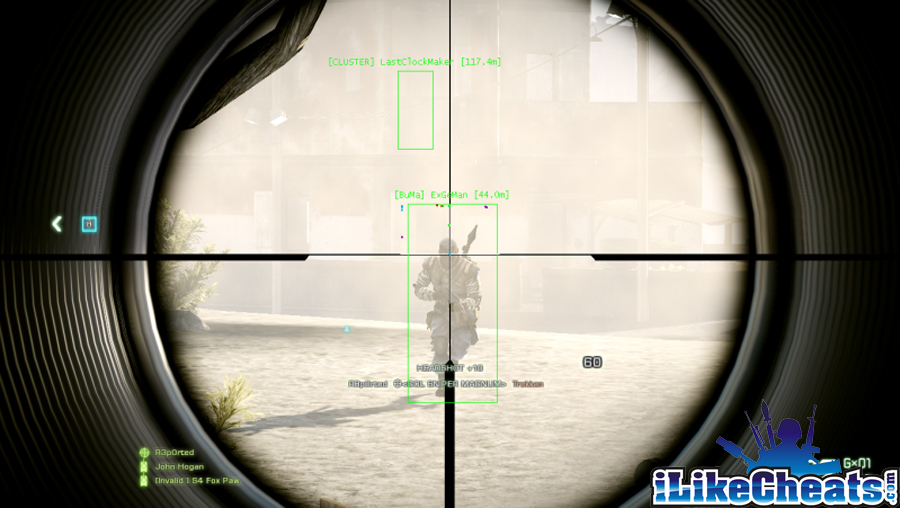 Battlefield Bad Company 2 Cheats Hacks Aimbot | iLikeCheats com