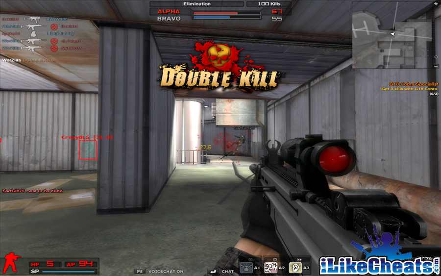 combat arms reloaded aimbot