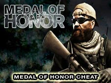 Medal of Honor Cheats