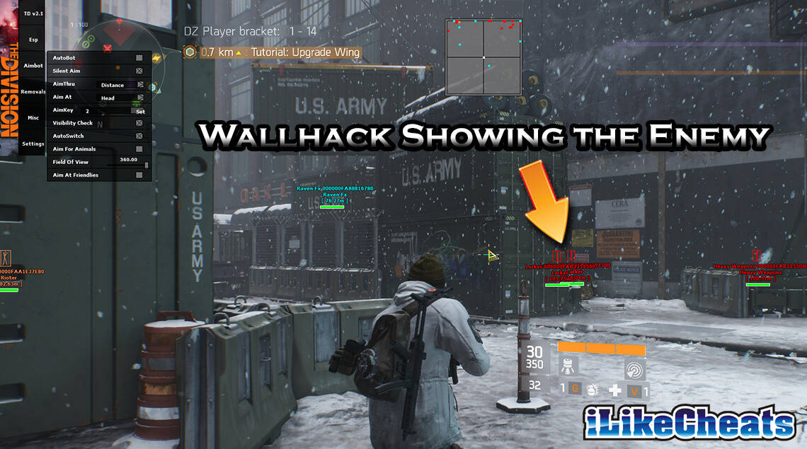 The Division Aimbot |ESP Hack | Wallhack Cheats